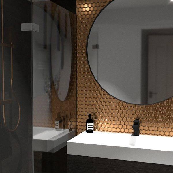 Badkamer ontwerp appartement
