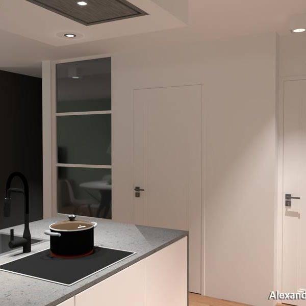 keukenontwerp voor een appartement