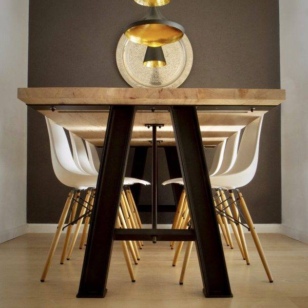 table design made by Alexander Haal